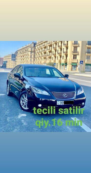 Lexus Azərbaycanda: Lexus 3.5 l. | 388 km