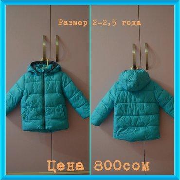Куртка деми. размер на 2-2,5 года. состояние хорошее, носили недолго. в Бишкек