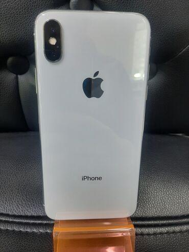сколько стоит iphone в Кыргызстан: Б/У iPhone X 64 ГБ Белый