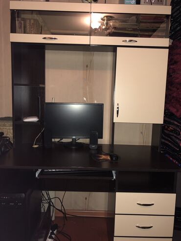 Процессоры в Кыргызстан: Компьютер в комплекте  Монитор- LOC Процессор- ASUS (DELUX) Клавиатур