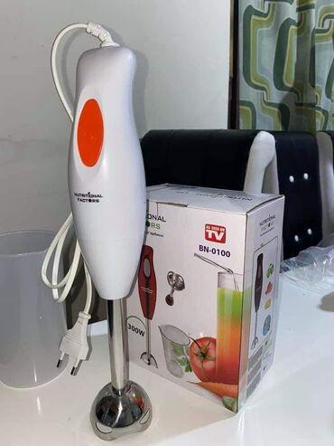 Nozevi - Srbija: Rucni blender štapni mikser 300W+Posuda za mucenje   Cena 1900din Rucn