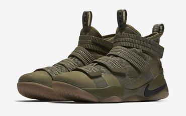Кроссовки и спортивная обувь в Кыргызстан: Продаю кроссовки nike lebron soldier 11 sfg цвет - medium olive