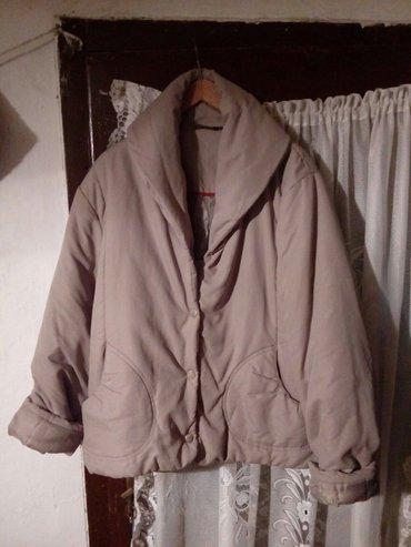 Zimska-jakna-topla-xl - Srbija: Zimska jakna xl u bež boji jako topla