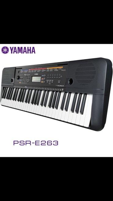 Синтезатор yamaha psr-e263 – синтезатор начального уровня, музыкальный