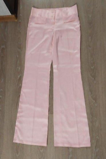 розовая мужская одежда в Кыргызстан: Женские клёш брюки (атлас) 44 размер