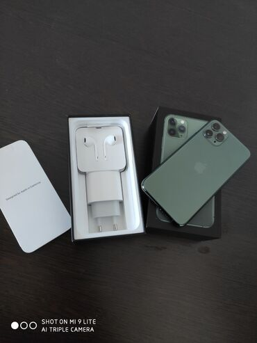 dji phantom 2 pro в Кыргызстан: Б/У IPhone 11 Pro 256 ГБ Зеленый