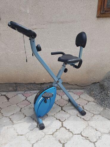 Корейские велотренажёр, компактный и удобный в использовании