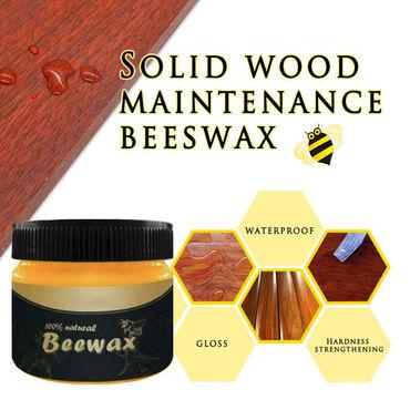 Novo sredstvo za održavanje nameštaja od drveta na bazi pčelinjeg vosk