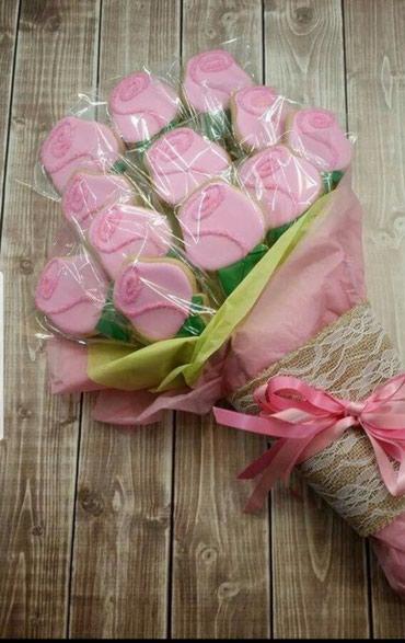 Цветы!!!Букеты из пряников!!!Сладкие букеты!!! в Бишкек