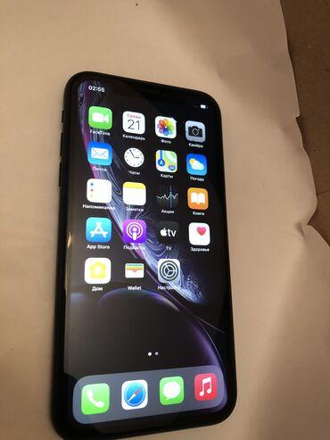 IPhone Xr | 64 ГБ | Черный | Б/У | Гарантия, Беспроводная зарядка, Face ID