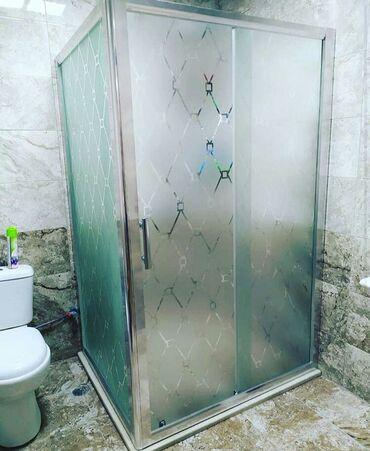 hamam - Azərbaycan: ✔Duş kabin arakəsmə şüşələr 🛠 polkalar moydadirlar cam balkonlar