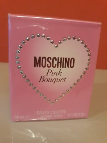 Moschino pink bouquet,original - Nis