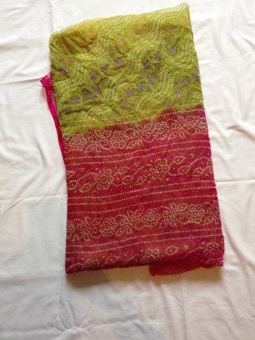 Sari original iz indije, rucno bojen - Vrsac