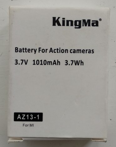 Xiaomi Yi camera бактерии. 1010 мах. новый! в Бишкек