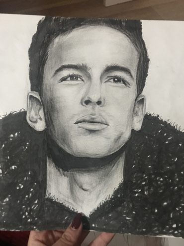 Рисую портреты на заказ... в Бишкек