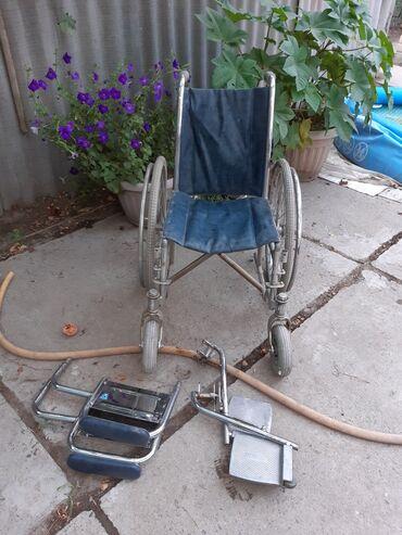 Медтовары - Аламедин (ГЭС-2): Инвалидная коляска, в отличном состоянии. В комплекте подлокотники и