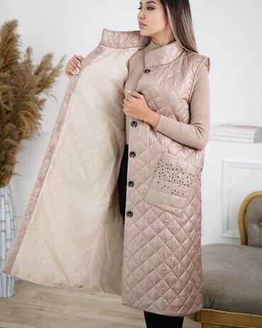 Женская одежда - Маловодное: Жилетка осень / зима Из качественного материала С подкладом Размер