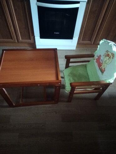 Детский мир - Кара-Балта: Продаётся детский стул для кормления, трансформер, в отличном