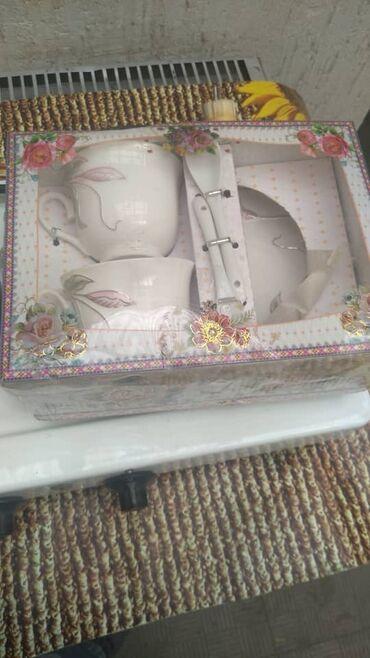 44 объявлений: Набор чайный. 2 чашечки, 2 блюдца, 2 ложечки