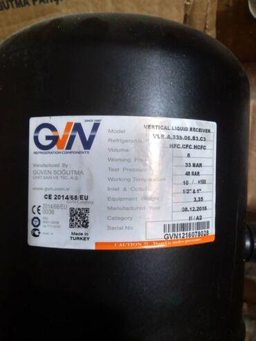 разборная металлоконструкция в Кыргызстан: Сосуды GVN (турция) Отделители масла, отделители жидкости, рессиверы