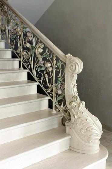 Лестницы из Сары таш.работа материал