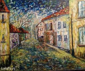 Umetnicke slike od svajcarskog akademskog slikara, sa njegovim - Kragujevac