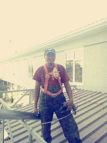 труба квадрат 50х50 цена бишкек в Кыргызстан: Крыша сайдинг слив труба жолаб калбак парапетт фагонка установка кылаб