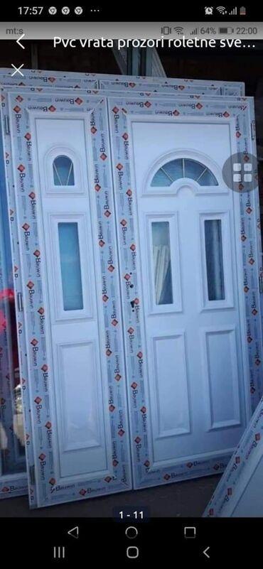 Pvc vrata - Srbija: Pvc vrata prozori roletne sve je novo dobar kvalitet jeftinije od svih