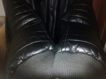 Kozna-jakana - Srbija: Izuzetna kozna jakna za decake 13-14godina,kupljena u Waikiki-ali je