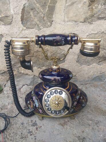 83 elan | İDMAN VƏ HOBBI: Farfor Telefon ela veziyetde tam ishlek di