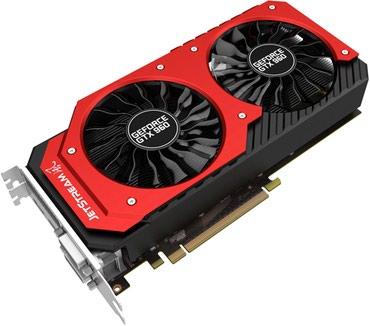 Продам Palit GeForce GTX 960 JetStream GDDR5 PCI-E 3.0 2GB 128 в Бишкек