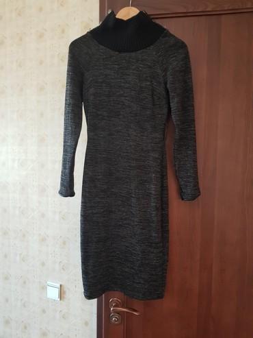 Женская одежда - Беш-Кюнгей: Платье,трикотаж,очень красиво облегает фигуру,покупалось за