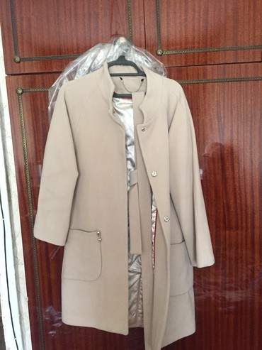 женское пальто в Кыргызстан: Женское пальто, размер 44-46, турция