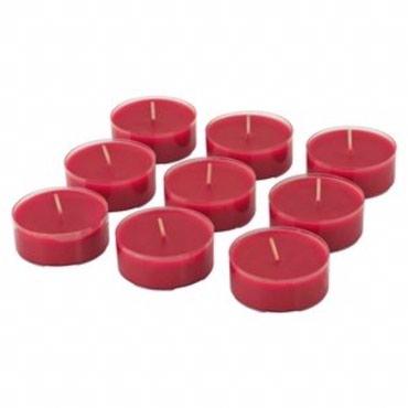 Новый набор свечей (9 штук). Диаметр 6 см.  в Бишкек