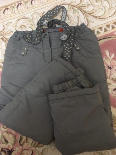 Зимние штаны на девочку 5-6 лет ,почти новые!!! в Бишкек