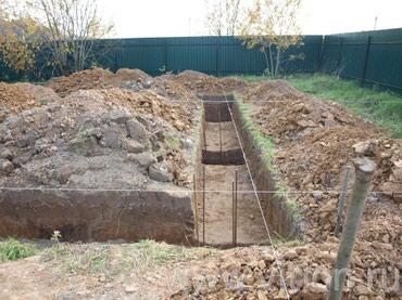 Все виды земляных робот! копаем под в Бишкек