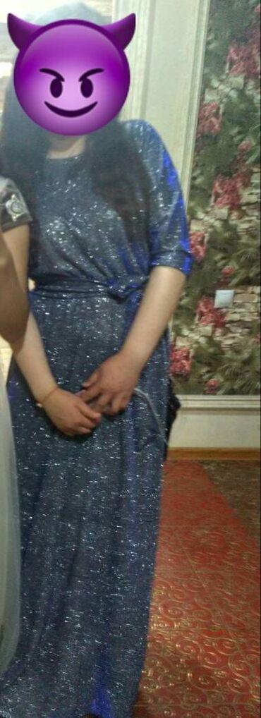 Очень нарядное блестящее платье Размер 44-46-48, M-L-XL. Одевала пар
