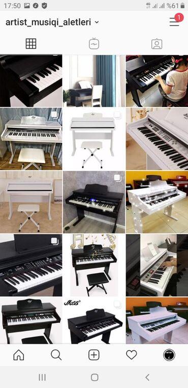 Mehdud saydadır Tələsin🏷MODEL MLSElektro piano Çox
