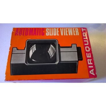 Airequipt Automatic Slide Viewer, Made in U.S.A., by Airequipt