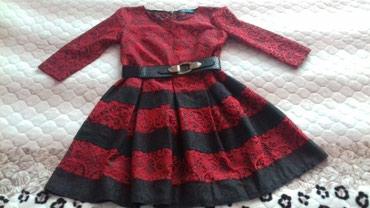 Красное Платье Турция размер 46-2500с. в Токмак