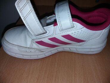 Dečija odeća i obuća - Sombor: Adidas patike na poklon papuce 29 cena 1000din.samo prodajq
