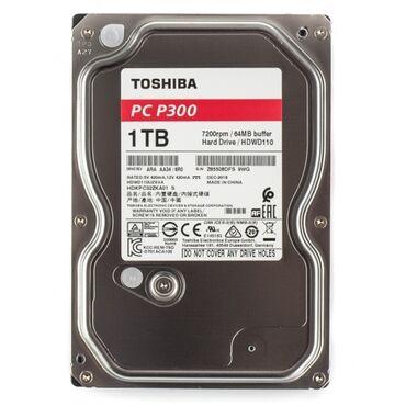 Электроника - Бишкек: Жёсткий диск Toshiba 1TB!  Состояние идеальное! Здоровье 100% Торга не