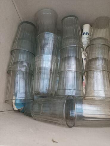 Стакан 250г советское стекло. В наличии 25шт. Цена одного 25 сом