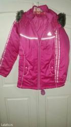 Adidas jakna za devojcicu vel. 9-10 god. U odlicnom stanju kratko - Palic