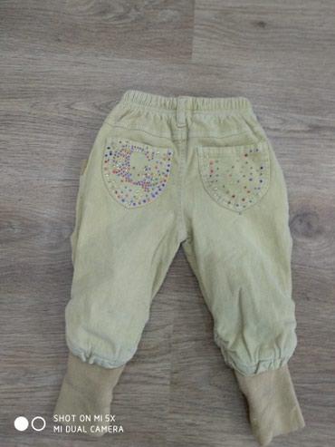 Очень теплые штаны примерно на год.В зависимости от ребенка. в Бишкек