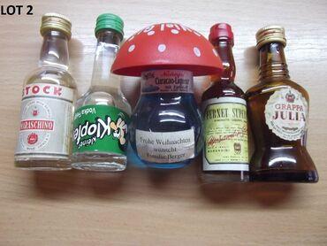 Reklamne flašice mini bottles unučići čokanji fraklići 1.Kao sa slika