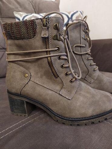 Ботинки на натуральном меху и нубуке Американского бренда Spring