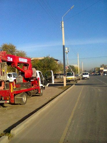 Услуги автовышки 15.19.25м в Бишкек