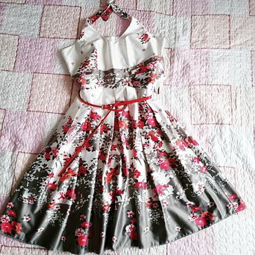 ORIGINAL ORSAY haljina, vel L, tanka, lagana i prijatna, oko vrata se