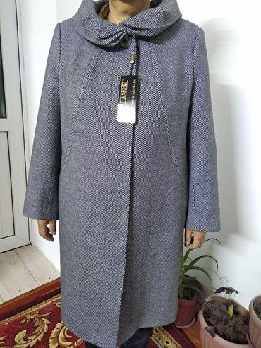 женское платье 52 в Кыргызстан: Российское пальто. ( Деми) 52-54. Есть скидка!